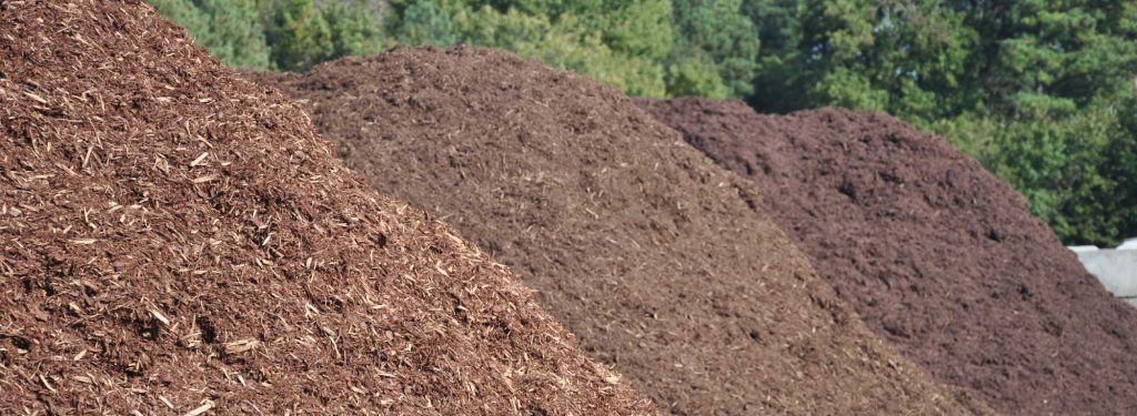 Keystone Landscape Supply red mulch